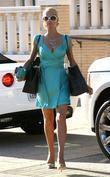 Paris Hilton shopping at Barneys New York in...