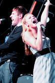 Sarah Smith and Sean Smith of Same Difference at Party in the Park at Temple Newsam