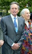 Michael Douglas and Jane Goodall