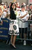 Penelope Cruz, David Letterman