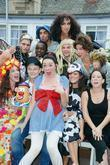 Alfie Allen and The cast of 'Portobello Panto'...