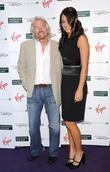Richard Branson and Ana Ivanovic
