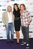 Richard Branson, Ana Ivanovic and Sam Branson