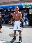 Prince Frederick Von Anhalt Rollerblading On Venice Beach