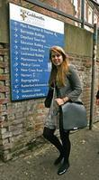 Princess Beatrice arrives at Goldsmiths University of London...