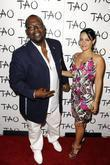 Randy Jackson and Erika Jackson