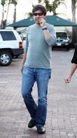 Ray Romano has lunch at Nobu with his...
