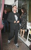 Ringo Starr leaving Il Sole Los Angeles, California