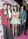 Katy Perry, her band peformed at the grand opening of Rok Vegas in the New York New York Hotel and Casino