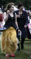 Helena Bonham Carter and Rufus Wainwright