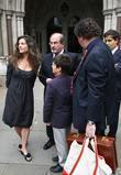 Elizabeth West and Salman Rushdie