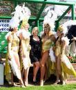 Suzanne Shaw and Showgirls