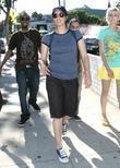 Sarah Silverman leaves the Urth Cafe in West...
