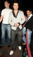 Andy Scott Lee leaving Studio Valbonne nightclub London,...