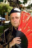 sylvester mccoy press launch of the mikado at the r