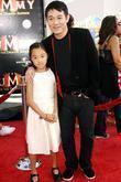 Jet Li and Jane Li Los Angeles Premiere...