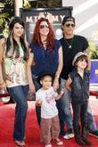Slash and Family Los Angeles Premiere of 'The...