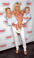Toni Poole and children