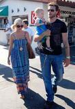 Tori Spelling, Dean McDermott and their son Charlie