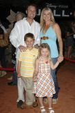 Chris Harrison and Family World premiere of Disney...
