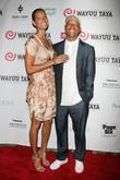 Porscha Coleman and Russell Simmons