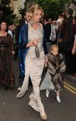 Kate Moss and daughter Lila Grace The wedding...