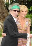 Keith Richards and Leah Wood