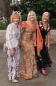 Jo Wood between two guests The wedding of...