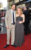 Gillian Anderson, David Duchovny, Empire Leicester Square