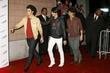 Kevin Jonas, Joe Jonas and Nick Jonas of the Jonas Brothers
