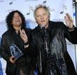 Stevie Salas (L) and Matt Sorum