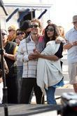 Matthew Mcconaughey, His Girlfriend Camila Alves and Their Son Levi
