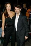 Jeff Gordon and Ingrid Vandebosch New York Premiere...