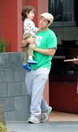 Adam Sandler, his daughter Sadie Sandler and their...