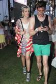 Agyness Deyn and fashion designer Henry Holland at...