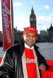 AirAsia CEO Tony Fernandes Low-cost airline AirAsia announce...
