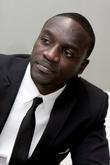 Akon during a portrait session at the Universal...