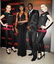 Akon, guest and models