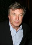 Alec Baldwin at a party for his book...