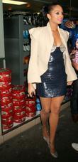 Alesha Dixon leaving Maya nightclub. Alesha is currently...