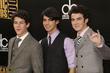 Nick Jonas, Joe Jonas and Kevin Jonas of the Jonas Brothers