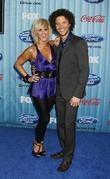 Justin Guarini and Kimberly Caldwell