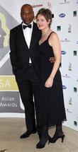 Colin Salmon and Fiona Hawthorne
