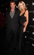 Ray Stevenson and Lady Victoria Hervey