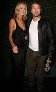 Lady Victoria Hervey and Gerard Butler