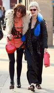 Pixie Geldof and A Friend Walking To The Hawley Arms Pub After Enjoying A Day Out In Primrose Hill