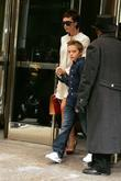 Victoria Beckham and Son Brooklyn Beckham