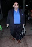 Actor Ken Davitian outside Beso restaurant in West...