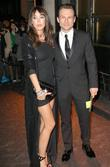 Tamara Mellon and Christian Slater