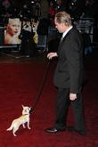 Stephan Elliott and Fizz the dog